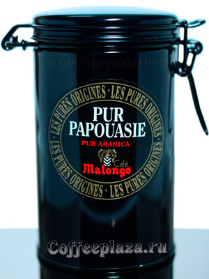 Кофе Malongo молотый Pur Papoua