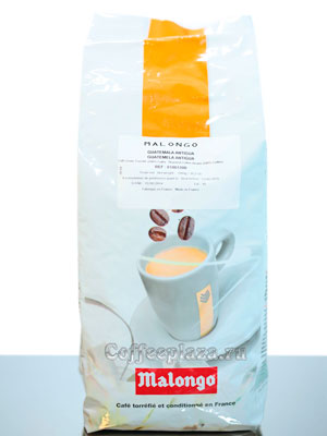 Кофе Malongo в зернах Guatemala Antigua 1кг