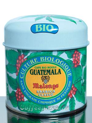 Кофе Malongo молотый Гватемала Био