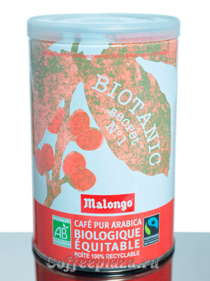 Кофе Malongo молотый Biotanic