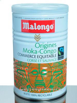 Кофе Malongo молотый Мокка-Конго