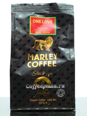 Кофе Marley Coffee (Марли Кофе) в зернах One Love 227 гр