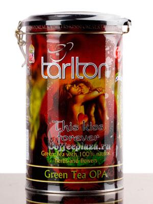 Чай Tarlton Поцелуй Навсегда зеленый 300 гр ж.б