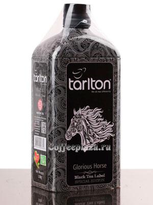 Чай Tarlton Славный Жеребец черный 150 гр ж.б.
