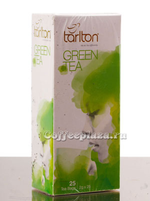 Чай Tarlton Green Tea в пакетиках