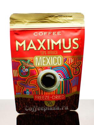 Кофе Maximus Растворимый Mexico 70 гр (Мягкая упаковка)