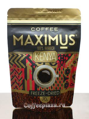 Кофе Maximus Растворимый Kenya 100 гр (Банка)