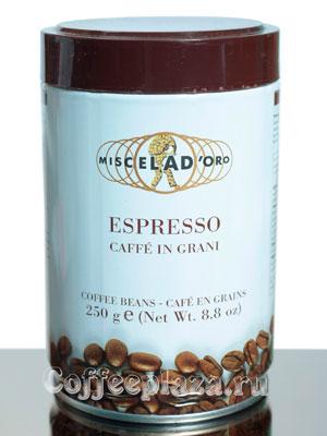 Кофе Miscela d`Oro в зернах Espresso Caffe In Grani