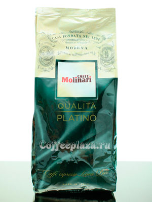 Кофе Molinari в зернах Platino