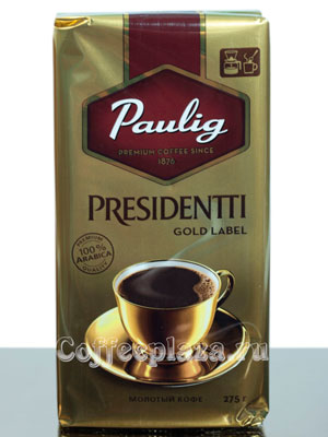 Кофе Paulig Presidentti Gold Label молотый 250 г