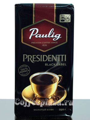 Кофе Paulig молотый Presidentti Black Label 250 гр