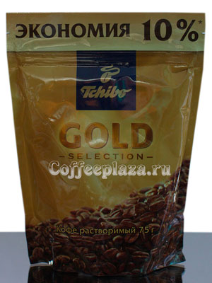 Кофе Tchibo растворимый Gold Selection 75 гр