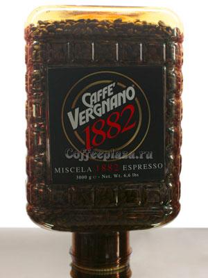 Кофе Vergnano в зернах Miscela 1882 Espresso 3кг