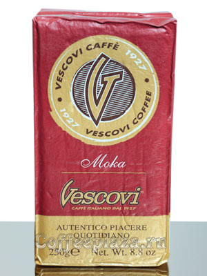 Кофе Vescovi молотый Moka