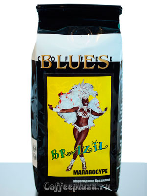 Кофе Brazil Maragogype в зернах 200 гр