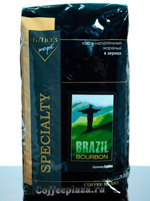 Кофе Brazil Bourbon в зернах 1 кг