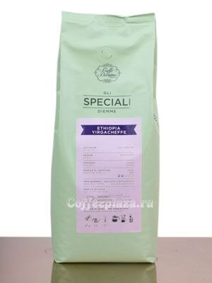 Кофе Diemme в зернах Gli Speciali Ethiopia Yirgacheffe 1 кг
