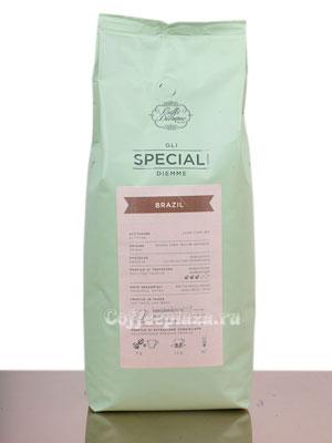 Кофе Diemme в зернах Gli Speciali Brasile Coffee Blend 1 кг