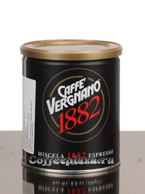Кофе Vergnano Miscela 1882 Espresso молотый 250 гр ж.б.