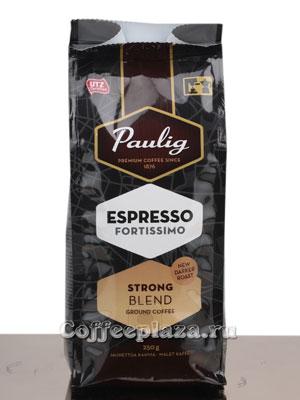 Кофе Paulig молотый Espresso Fortissimo 250 гр