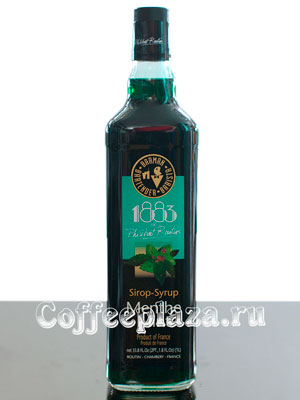 Сироп Philibert Routin 1883 Зеленая Мята 1 л ст/б