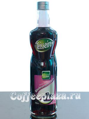 Сироп Teisseire Черная смородина 700 мл ст/б