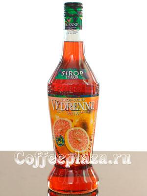 Сироп Vedrenne Розовый Грейпфрут 0,7л