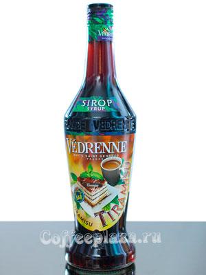 Сироп Vedrenne Тирамису 0,7л