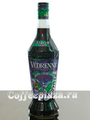 Сироп Vedrenne Голубика 0,7л