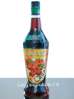 Сироп Vedrenne Карамель 0,7л