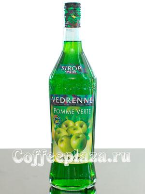 Сироп Vedrenne Зеленое Яблоко 1л