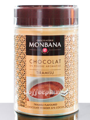 Горячий шоколад Monbana (Монбана) Тирамису