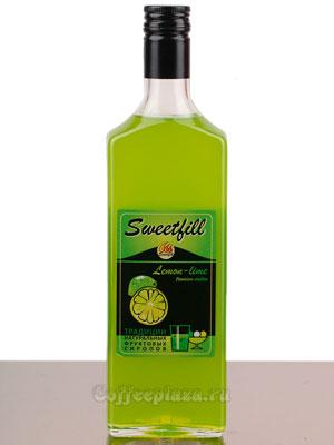 Сироп Sweetfill Лимон-Лайм 0,5 л