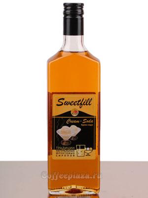 Сироп Sweetfill Крем-Сода 0,5 л