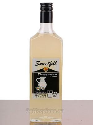 Сироп Sweetfill Сливки 0,5 л