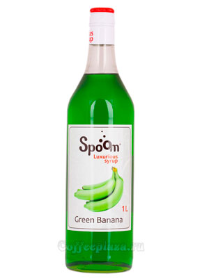 Сироп Spoom Зеленый Банан 1 л