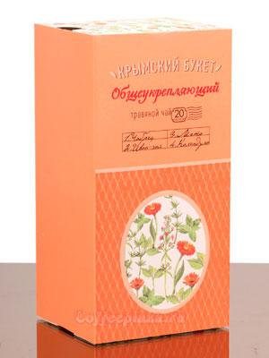 Травяная смесь Общеукрепляющий Крымский букет пакетированный