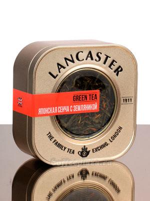 Чай Lancaster Японская Сенча с Земляникой