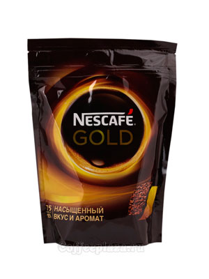 Кофе Nescafe Gold 150 гр пакет