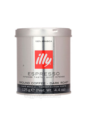Кофе Illy молотый Espresso Coffee Dark 125 гр