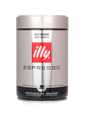 Кофе Illy молотый Espresso Coffee Dark 250 гр
