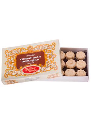 Конфеты Красный Октябрь Сливочная помадка с цукатом 250 гр