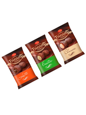 Набор конфет Красный Октябрь Триумф микс 250 гр