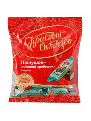 Конфеты Красный Октябрь Петушок-Золотой гребешок 250 гр