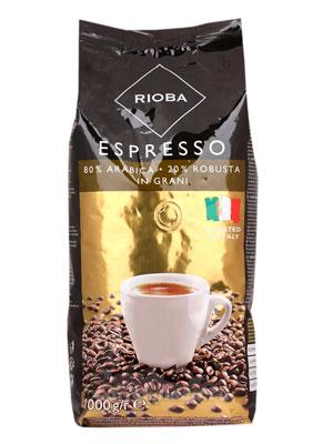 Кофе Rioba в зернах Gold