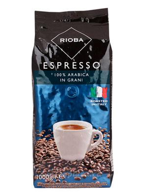 Кофе Rioba в зернах (Espresso) Platinum