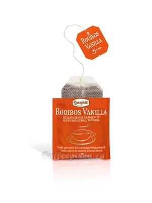 Чай Ronnefeldt Rooibos Vanille/Ройбош Ваниль пакетированный в индивидуальной упаковке чай 25 шт х1,25р