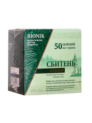Сахар Bionik Сбитень таежный 50 стиков