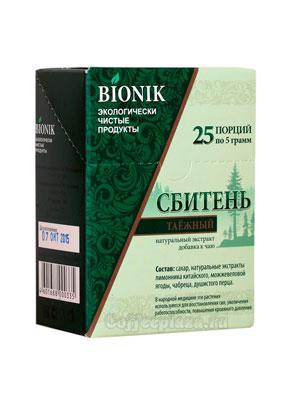 Сахар Bionik Сбитень таежный 25 стиков