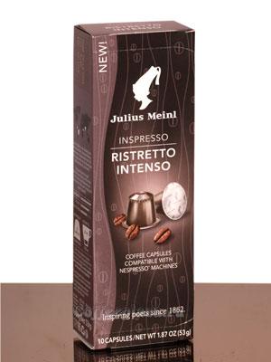 Julius Meinl Nespresso Ristretto Intenso 10 капсул х 5,3 гр